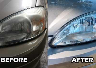Headlight restoration so you can see and look better!