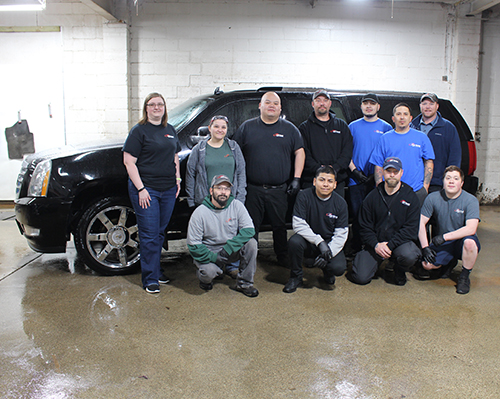 Our friendly team of experts at Car Guard