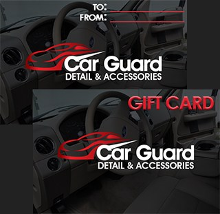 Car Guard gift card.