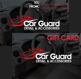 Car Guard gift card.