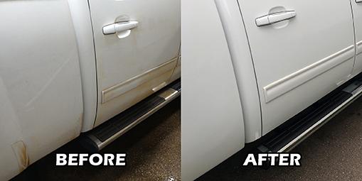 Auto detail special service brake dust