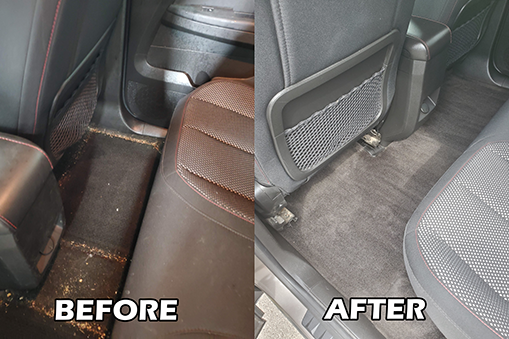 Smoke and odor neutralization auto detail